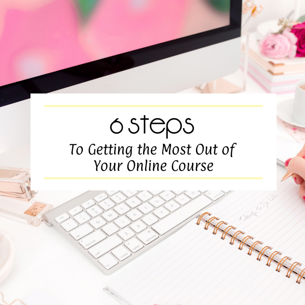 Get the Most Out of Your Online Course