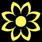 Gift Biz Unwrapped Flower Icon