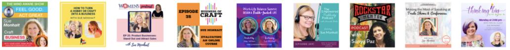 Sue Monhait Featured Podcasts