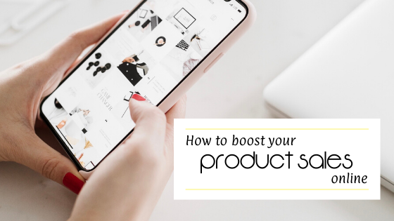 boost product sales online