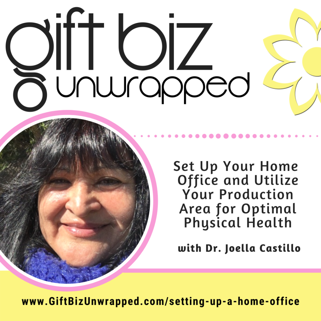 Setting up a home office with Dr. Joella Castillo