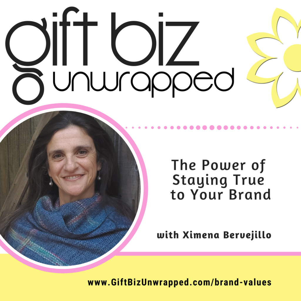 The power of staying true to your brand values with Ximena Bervejillo of Entrelanas Designs