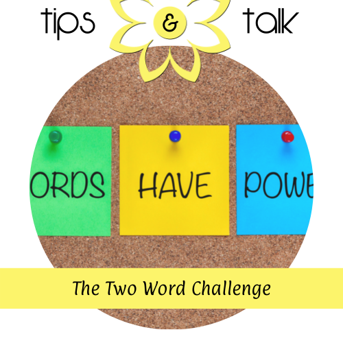 The Two Word Challenge