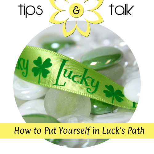 Get Lucky Ribbon and Stones